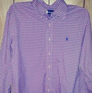 Polo Ralph Lauren button down dress shirt